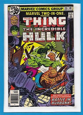 Marvel Two-In-One #46_Dec 1978_Very Fine/near Mint_The Thing_Incredible Hulk!