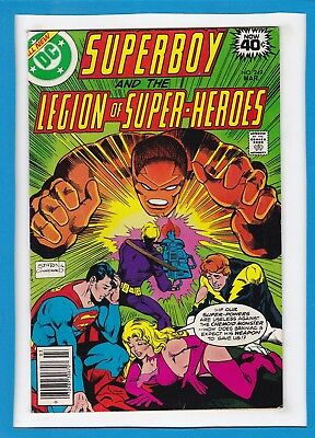 Superboy And The Legion Of Super-Heroes #249_March 1979_Vf Minus_Bronze Age Dc!