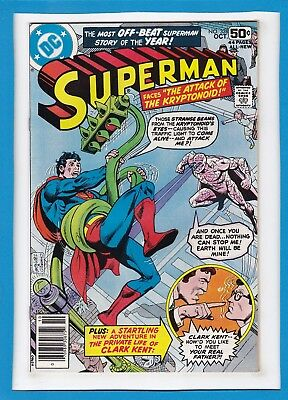 "Superman #328_October 1978_Very Fine/near Mint_""attack Of The Kryptonoid""!"