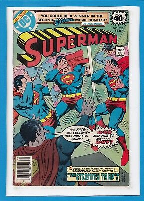 Superman #332_February 1979_Very Fine Minus_Master Jailer_Bronze Age Dc!