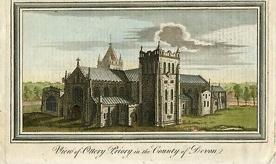 Inglaterra. View of Ottery Priory in the County of Devon, 1769.