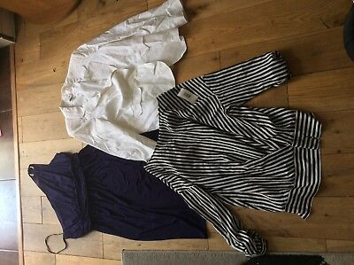 Bundle of women's size 18 to 20 clothes, dress, top and jacket