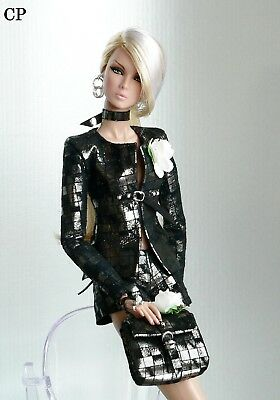 CP ITALIAN STYLE handmade outfit  for FASHION ROYALTY FR2 NU FACE