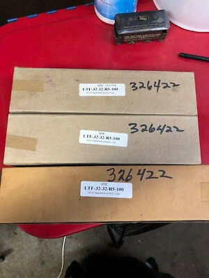 "Lot of 3 Lenz LTF-32-32-R5 2X2"" NPT 326422 BYPASS TANK STRAINER HYDRAULIC Qty 3"