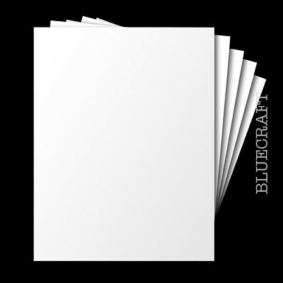 A5 Blank White Card - Premium 225gsm - 210 x 148mm - All Quantity Packs