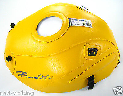 Bagster TANK COVER GSF1200 BANDIT 2001-2005 TANK PROTECTOR in STOCK yellow 1403G