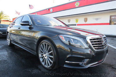 Mercedes-Benz S-Class 4dr Sedan S 550 RWD LOADED. CARFAX CERTIFIED. BEST COLOR.  FACTORY WARRANTY. CALL 954-744-1177