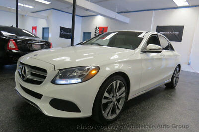 Mercedes-Benz C-Class 4dr Sedan C 300 RWD BEST COLOR . LOADED. FACTORY WARRANTY. CARFAX CERTIFIED. CALL 954-744-1177