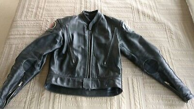 Motorcycle racing leathers, custom heavy duty, great for track or street