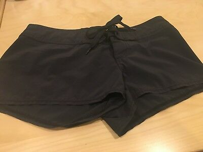 Billa Bong Women's/juniors Black Board Shorts, Size 1, Euc