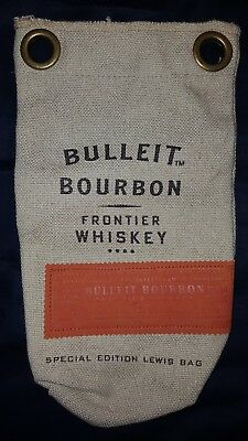 NEW Bulleit Bourbon Special Edition Burlap Ice Crusher Gift Bag no tag