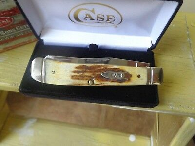 Case XX Rare 5254 Stag Trapper Pocket Knife
