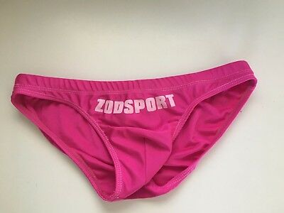 Pre-Owned Pink Swim Brief Low Rise Gay Int