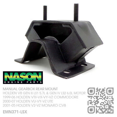 Nason T56 Manual Gearbox Mount V8 Ls1 5.7L Motor [Holden Vt-Vx-Vy-Vz Commodore]