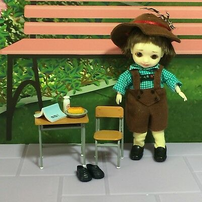 "Tonner 4"" Resin BJD Hamish from Amelia Thimble Collection in Lederhosen + Extras"