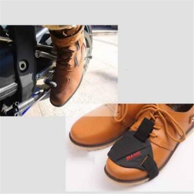 Wear-resisting Rubber Motorcycle Motorbike Gear Shift Pad Riding Boots Cover LD