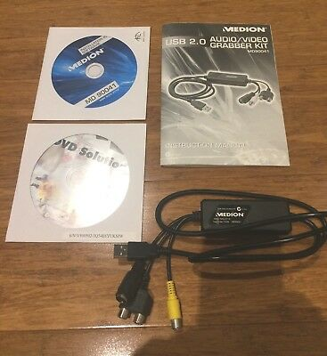 Medion Audio Video Grabber Kit MD90041