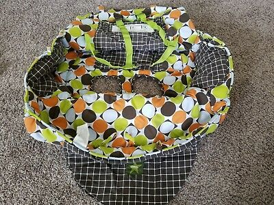 Jeep Shopping Cart and High Chair Cover 90200R Polka Dot