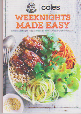 Coles Made Easy Mini Cookbook - Weeknights Made Easy - Brand New