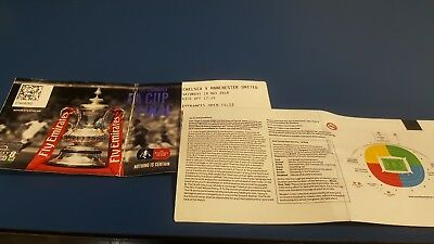 Chelsea v Manchester United Fa cup final ticket