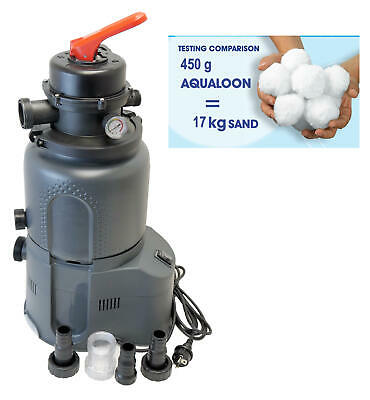 Sandfilteranlage inkl Aqualoon Poolfilter Intex Pool Aufstellpools Sandfilter