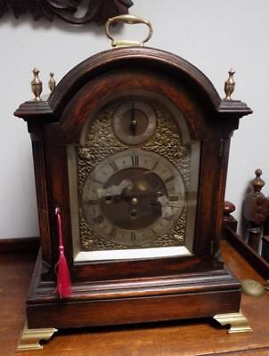 large triple fusee westminster bracket clock by winterhalderf& hoffmeir c1900s