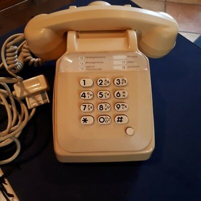 Telephone Vintage   S63  Socotel A Touches