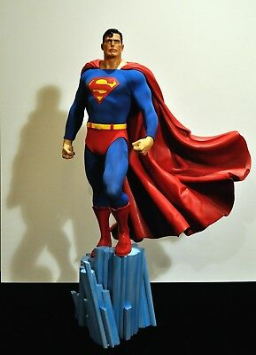 SUPERMAN SIDESHOW PREMIUM FORMAT STATUE 1/4 *IN ARTWORK BOX* not xm or prime1