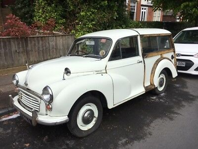 morris minor traveller ideal for restoration with loads of history