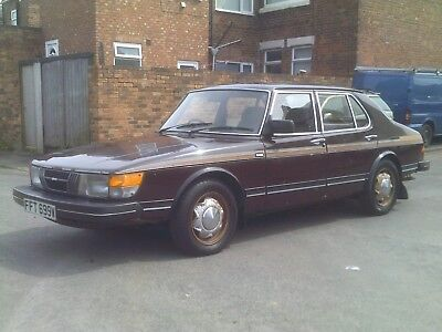 Saab 900 Gls Twin Carb, 4 Dr Sedan, 1981 W Reg, 39,600 Miles, Genuine Barn Find