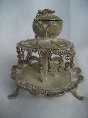 Eastern Silver Incense Burner