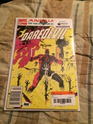 Daredevil Annual 7 Signed By Mike Mignola Bam Authenticated Newsstand Cover