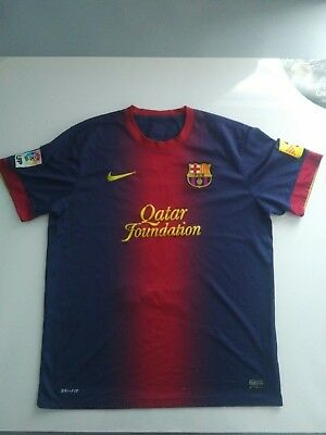 Barcelona Home Jersey Football (Size Large/Extra Large)
