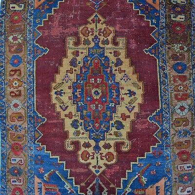 Antik Yahyali Orient-Teppich Natur-Farben 212x125 cm rug tapis tappeto alfombra