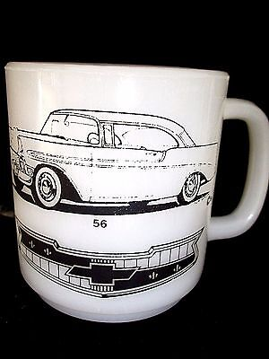 Coffee Mug Vintage Shoebox Chevy 1956 Chevrolet Bel Aire Coupe Fathers Day Gift