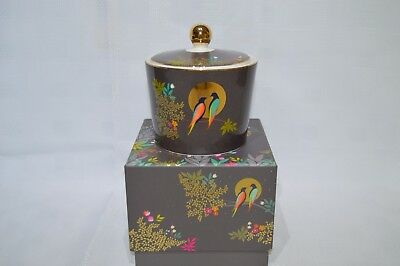 Portmeirion Sara Miller Chelsea Collection Lidded Sugar Bowl - In Gift Box