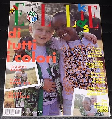 ELLE KIDS Junior Children Enfant Fashion BAMBINI Magazine Spring 2017