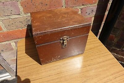 In Wooden Case A BBC Western Electric Crystal Radio Set & SG Brown Headphones