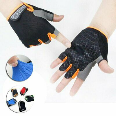 Weight Lifting Gloves Gym Power Training Exercise Fitness Body Building Glove
