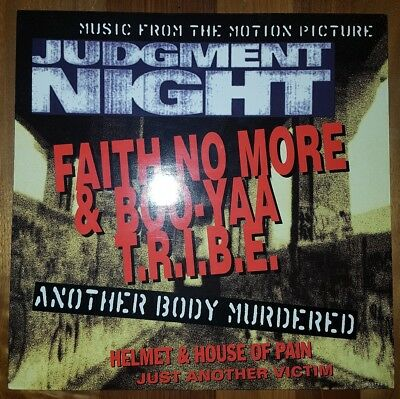 "NM-(!) Judgement Night-12""Vinyl OST Faith No More/ Helmet/ House Of Pain 1993"