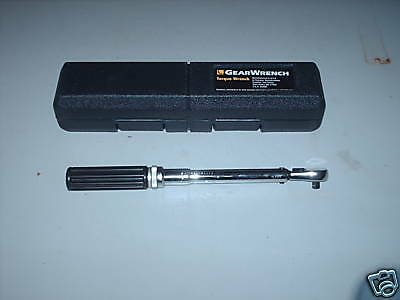 "KD Tools 1/4"" Torque Wrench 30-200 in/lb - Aircraft, Automotive, Aviation Tools"