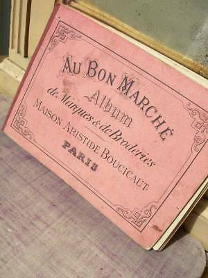 French 19th Century album of monograms alphabets for embroidery