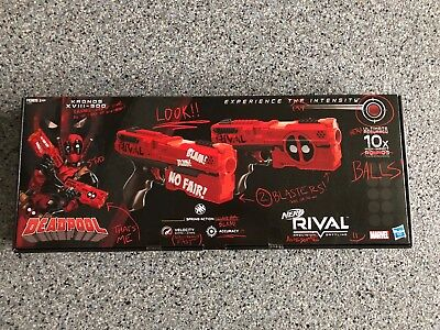 Nerf Rival Deadpool Kronos XVIII-500 Dual Pack, Fun Kids Game Toy, New In Box