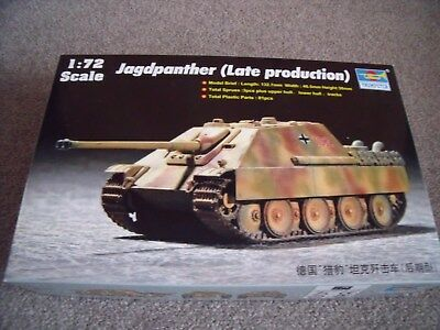Trumpeter 07272,Jagdpanther (Late Production)   Massstab 1:72 (2)