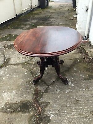 Victorian Mahogany Loo Table