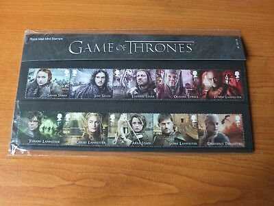 GAME of THRONES 2018 Mint Stamps PRESENTATION PACK No 551
