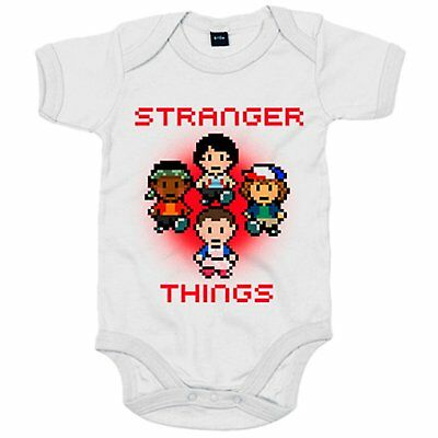 Body bebé Stranger Things 8 Bits