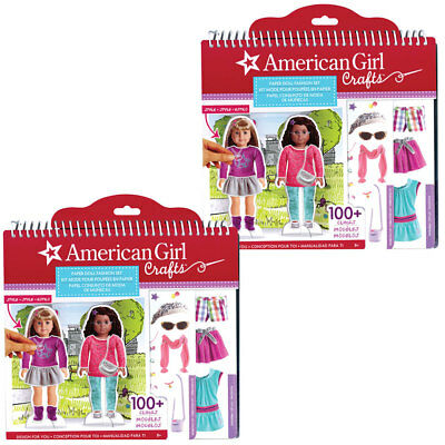NEW (Set/2) American Girl Paper Doll Craft Fashion Kits - Accessories & Clothing