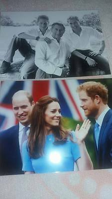 Photos real Pictures Prince William Charles Harry royal family  buckingham