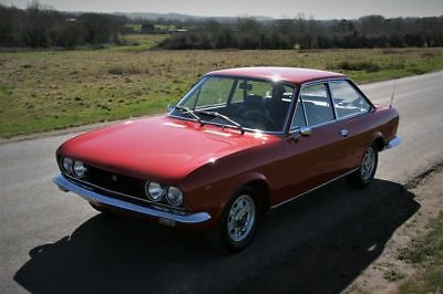FIAT 124 SPORT COUPE BC 1600 - LHD With current MOT and UK Reg